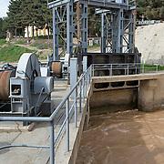 Puli-Khumri  hydro electirc power plant. Puli-Khumri , Afghanistan on the 9th of April 2009.