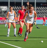 ANTWERPEN -  Ireland-Russia (3-2) . Belfius Eurohockey Championship (women) hockey. Deirdre Duke (Irl)   WSP/ KOEN SUYK