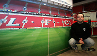 Photo: Paul Thomas.<br /> Photography of Norwegian Liverpool supporters at Anfield. 04/03/2007.<br /> <br /> Norwegian Liverpool supporter Andre Oien.