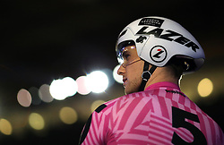 Great Britain's Alexander Spratt during day six of the Six Day Series at Lee Valley Velopark, London