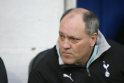 PORTSMOUTH, ENGLAND - MONDAY, JANUARY 1st, 2007: Martin Jol of Spurs against Portsmouth during the Premiership match at Fratton Park. (Pic by Chris Ratcliffe/Propaganda)