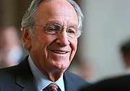 Senator Tom Harkin (D-IA) at a reception in the Rayburn House Office Building in Washington, DC on Wednesday, April 10, 2013.