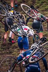 CASASOLA Sara (ITA) during the Women's race, UCI Cyclo-cross World Cup at Valkenbrug, The Netherlands, 23 October 2016. Photo by Pim Nijland / PelotonPhotos.com | All photos usage must carry mandatory copyright credit (Peloton Photos | Pim Nijland)