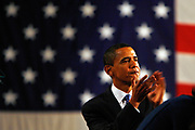 The Iowa Caucus, the first stepping stone on the way to the White House for the Presidential Hopeful candidates.<br /> <br /> <br /> <br /> Barack Obama at the Victory Party.