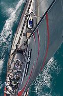 SPAIN, Valencia, April 6 2007,Louis Vuitton Act 13, Race 4, Alinghi SUI 91