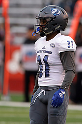NORMAL, IL - September 08: Antonio Crosby during 107th Mid-America Classic college football game between the ISU (Illinois State University) Redbirds and the Eastern Illinois Panthers on September 08 2018 at Hancock Stadium in Normal, IL. (Photo by Alan Look)