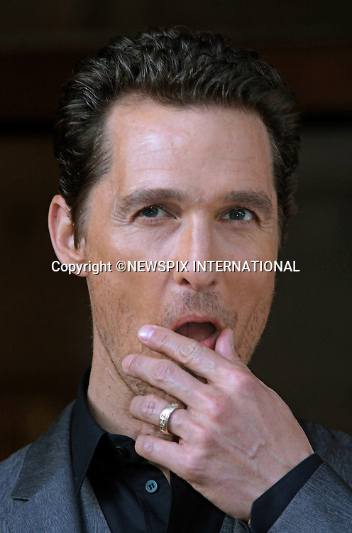 MATTHEW MCCONAUGHEY <br /> attends a photocall for 'Dallas Buyers Club', Rome_28/1/2014.<br /> Mandatory Credit Photo: &copy;Scavolini/NEWSPIX INTERNATIONAL<br /> <br /> **ALL FEES PAYABLE TO: &quot;NEWSPIX INTERNATIONAL&quot;**<br /> <br /> IMMEDIATE CONFIRMATION OF USAGE REQUIRED:<br /> Newspix International, 31 Chinnery Hill, Bishop's Stortford, ENGLAND CM23 3PS<br /> Tel:+441279 324672  ; Fax: +441279656877<br /> Mobile:  07775681153<br /> e-mail: info@newspixinternational.co.uk