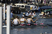 Henley Royal Regatta. Henley-on-Thames, ENGLAND, 01.07.2006.Men's Quadruple Sculls, Henley RC and Tideway scullers School  RC.. Photo  Peter Spurrier/Intersport Images.email images@intersport-images.com... Henley Royal Regatta, Rowing Courses, Henley Reach, Henley, ENGLAND [Mandatory credit; Peter Spurrier/Intersport Images] 2006 . HRR. ...........Rowing Courses, Henley Reach, Henley, ENGLAND. HRR