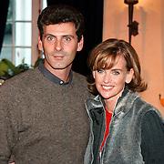 Boekpresentatie Daphne Deckers, Daphne met broer Clark