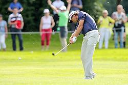 25.06.2015, Golfclub München Eichenried, Muenchen, GER, BMW International Golf Open, Tag 1, im Bild Retief Goosen (RSA) auf dem Fairway // during day one of the BMW International Golf Open at the Golfclub München Eichenried in Muenchen, Germany on 2015/06/25. EXPA Pictures © 2015, PhotoCredit: EXPA/ Eibner-Pressefoto/ Kolbert<br /> <br /> *****ATTENTION - OUT of GER*****