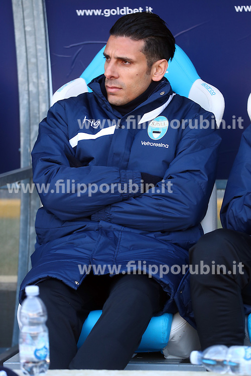 "Foto Filippo Rubin<br /> 21/01/2017 Ferrara (Italia)<br /> Sport Calcio<br /> Spal vs Benevento - Campionato di calcio Serie B ConTe.it 2016/2017 - Stadio ""Paolo Mazza""<br /> Nella foto: SERGIO FLOCCARI<br /> <br /> Photo Filippo Rubin<br /> January 21, 2017 Ferrara (Italy)<br /> Sport Soccer<br /> Spal vs Benevento - Italian Football Championship League B ConTe.it 2016/2017 - ""Paolo Mazza"" Stadium <br /> In the pic: SERGIO FLOCCARI"