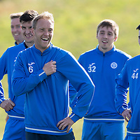 St Johnstone Training….30.09.16<br />Streven Anderson pictured during training this morning<br />Picture by Graeme Hart.<br />Copyright Perthshire Picture Agency<br />Tel: 01738 623350  Mobile: 07990 594431