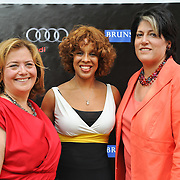 Hillary Rosen, Gayle King and Tammy Haddad at the 2010 White House Correspondents Garden Brunch. (Photo by Kyle Gustafson)