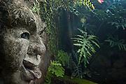 Sculpture detail. 'Brief' garden, Bentota.