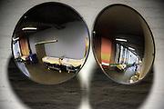 Nederland, Nijmeghen, 18-10-2010Ziekenhuisbedden op een gang in het ziekenhuis.Foto: Flip Franssen