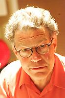 Al Franken at home in Minneapolis  June 2008....Photograph by Owen Franken .. Senator Al Franken at home in Minneapolis, Minnesota Al Franken