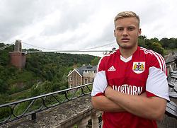 Rhys Jordan of Bristol City - Photo mandatory by-line: Kieran McManus/JMP - Tel: Mobile: 07966 386802 31/07/2013 - SPORT - FOOTBALL - Avon Gorge Hotel - Clifton Suspension bridge - Bristol -  Team Photo