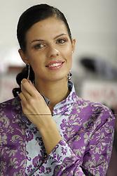 Female fashion portrait. (Photo by Vid Ponikvar / Sportal Images)