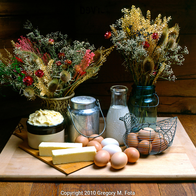 """MORAVIAN APPLE PIE Series -Fine art photograph from Bethlehem,PA-""""The Christmas City,USA"""".  """"Moravian Apple Pie_Dairy""""- (#1 of 4.)  Created 08/16/1981.. Available for purchase -digital print hard copy only...05142010. Photo: Copyright 2010 Gregory M. Fota/Fotagraphy"""