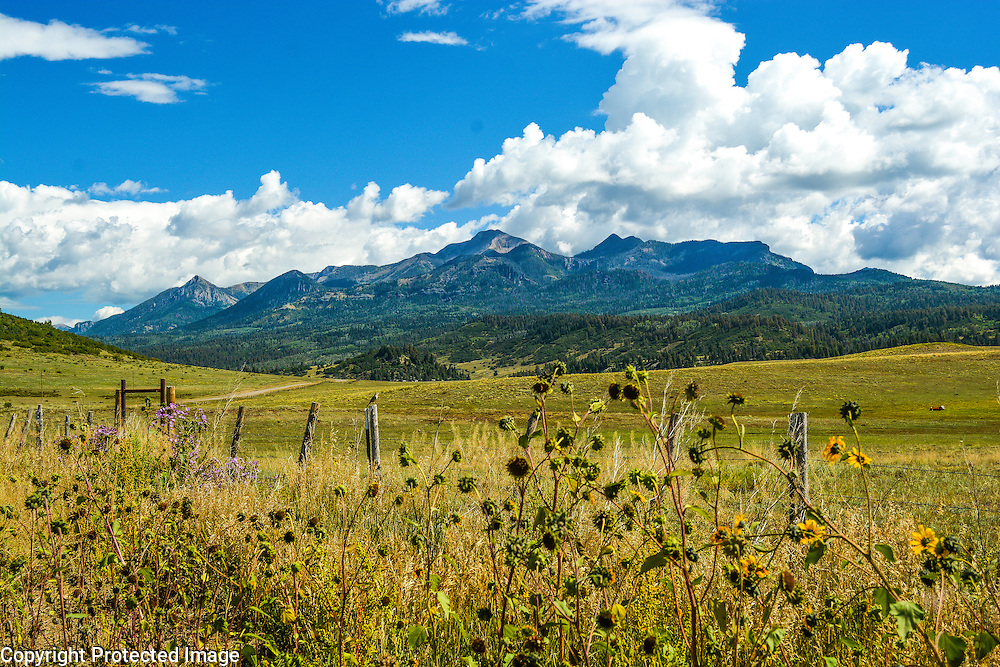 Pagosa Peak, located in Pagosa Springs, CO