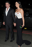 Simon Cowell and Lauren Silverman arrives at her boyfriend Simon Cowell's music prizegiving<br /> ©Exclusivepix Media