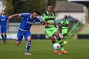 Forest Green Rovers Keanu Marsh-Brown(7) during the Vanarama National League match between Forest Green Rovers and Guiseley  at the New Lawn, Forest Green, United Kingdom on 22 October 2016. Photo by Shane Healey.