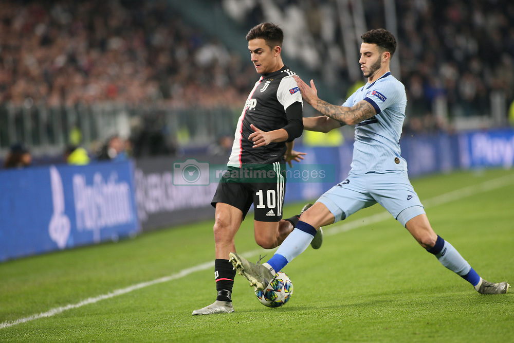 November 26, 2019, Turin, Italy: 10 paulo dybala (juventus)during Tournament round - Juventus FC vs Atletico Madrid, Soccer Champions League Men Championship in Turin, Italy, November 26 2019 - LPS/Claudio Benedetto (Credit Image: © Claudio Benedetto/LPS via ZUMA Wire)