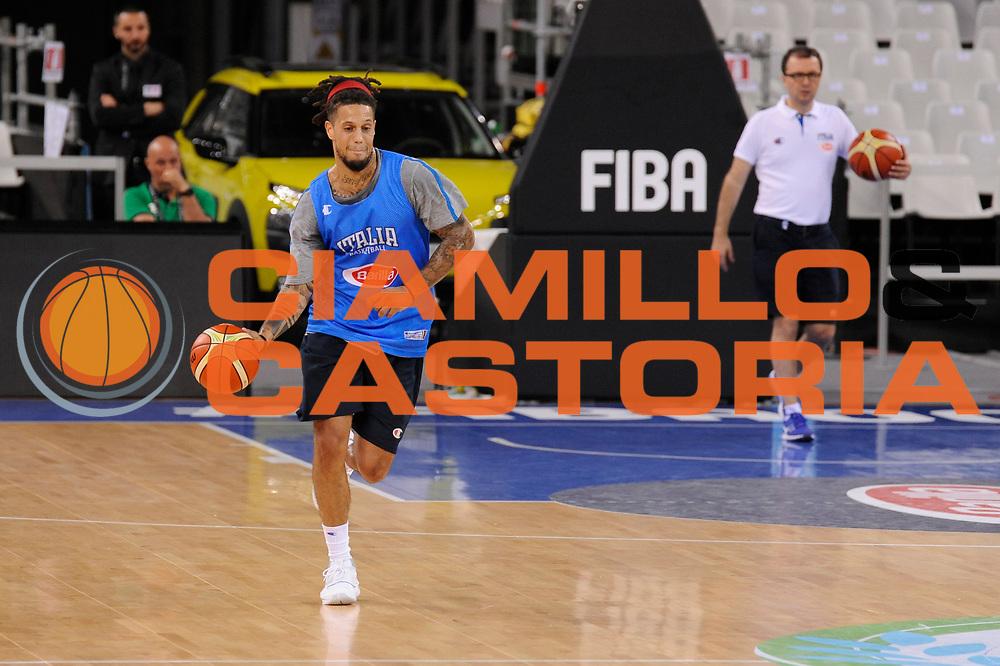 DESCRIZIONE: Torino FIBA Olympic Qualifying Tournament Allenamento<br /> GIOCATORE: Daniel Lorenzo Hackett<br /> CATEGORIA: Nazionale Italiana Italia Maschile Senior  Allenamento<br /> GARA: FIBA Olympic Qualifying Tournament Allenamento<br /> DATA: 07/07/2016<br /> AUTORE: Agenzia Ciamillo-Castoria