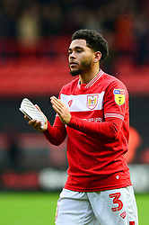 Jay Dasilva of Bristol City - Mandatory by-line: Dougie Allward/JMP - 27/10/2018 - FOOTBALL - Ashton Gate Stadium - Bristol, England - Bristol City v Stoke City - Sky Bet Championship