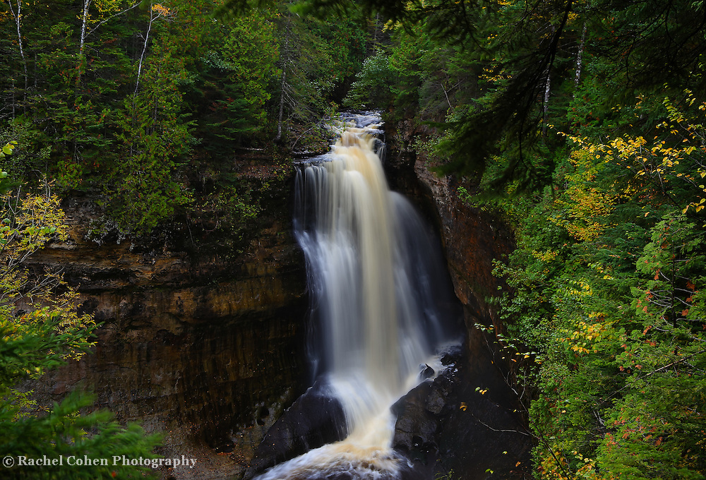 &quot;Miner's Falls in October&quot;<br />