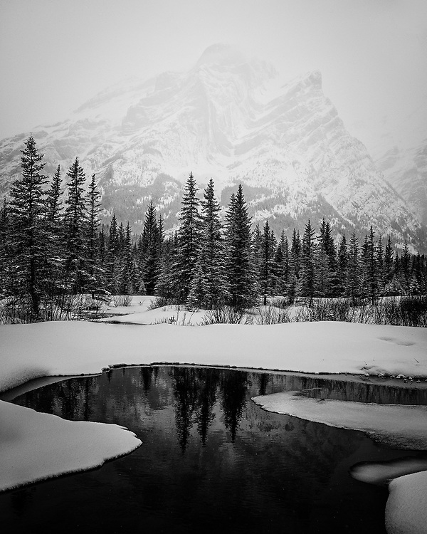 Winter in Kananaskis, Mar 2017