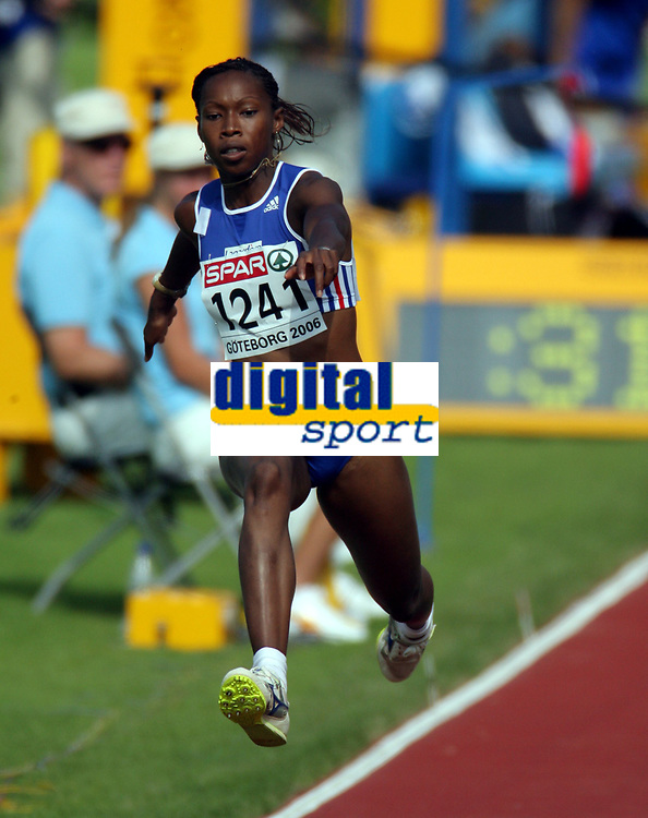 Friidrett , 8. juli 2006 , Gøteborg , EM , Europamesterskapet ,<br /> Athletics , European  Championship <br /> Amy Zongo FRANCE