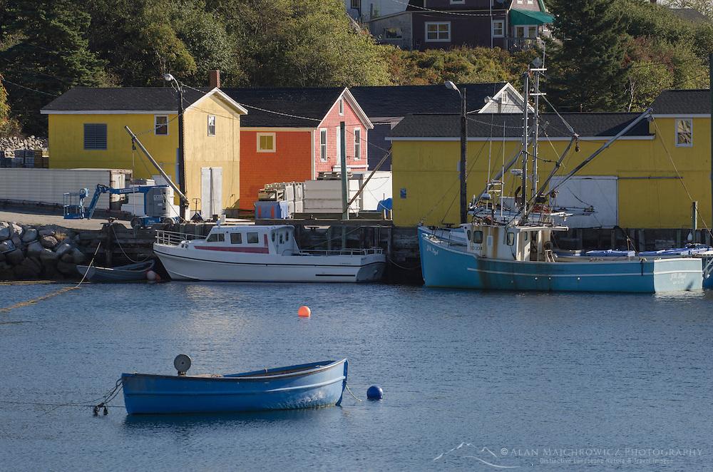Fishing boats Nova Scotia