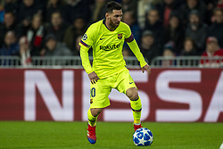 November 28, 2018 - Eindhoven, Netherlands - Lionel Messi of Barcelona with the ball during the UEFA Champions League Group B match between PSV Eindhoven and FC Barcelona at Philips Stadium in Eindhoven, Netherlands on November 28, 2018  (Credit Image: © Andrew Surma/NurPhoto via ZUMA Press)