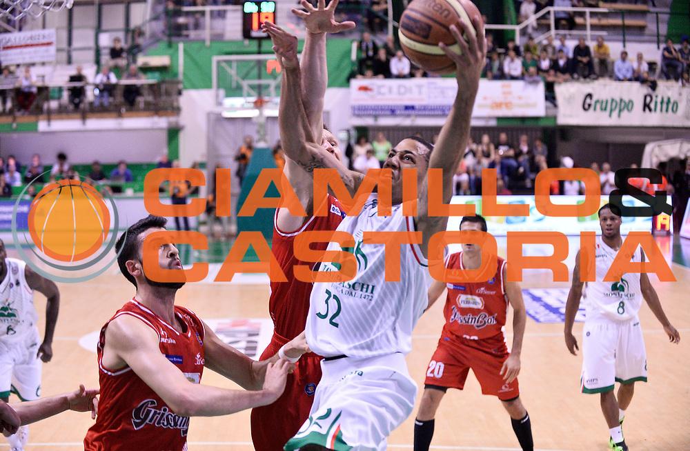 DESCRIZIONE : Siena Lega A 2013-2014 Montepaschi Siena GrissinBon Reggio Emilia playoff  Quarti di Finale Gara 2<br /> GIOCATORE : Erick Green<br /> CATEGORIA : Tiro Penetrazione <br /> SQUADRA : Montepaschi Siena  <br /> EVENTO : Lega A 2013-2014 playoff  Quarti di Finale Gara 2 <br /> GARA : Montepaschi Siena GrissinBon Reggio Emilia <br /> DATA : 24/05/2014 <br /> SPORT : Pallacanestro <br /> AUTORE : Agenzia Ciamillo-Castoria/A.Giberti <br /> GALLERIA : Lega A playoff 2013-2014 <br /> FOTONOTIZIA : Siena Lega A 2013-2014 Montepaschi Siena GrissinBon Reggio Emilia playoff  Quarti di Finale Gara 2