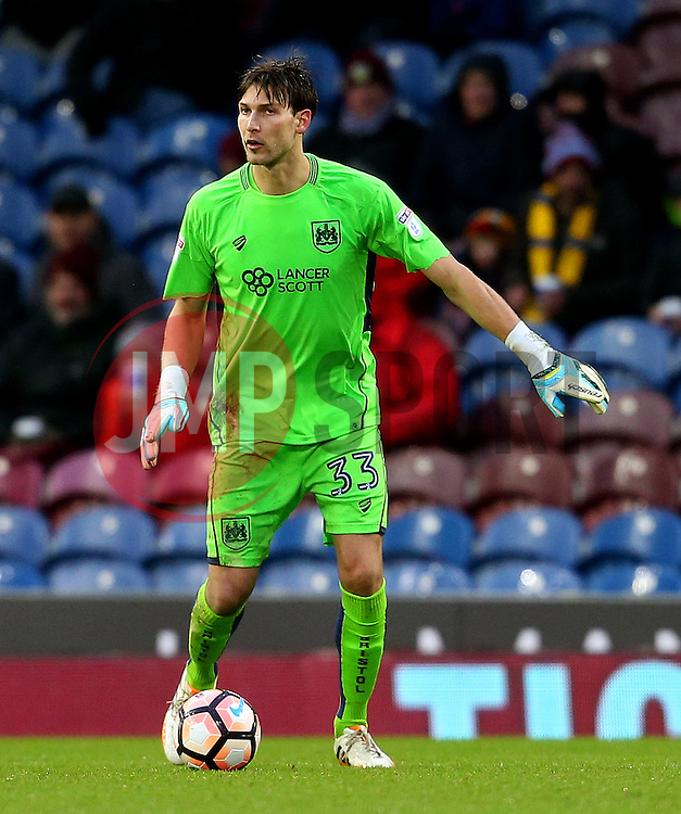 Fabian Giefer of Bristol City - Mandatory by-line: Matt McNulty/JMP - 28/01/2017 - FOOTBALL - Turf Moor - Burnley, England - Burnley v Bristol City - Emirates FA Cup fourth round