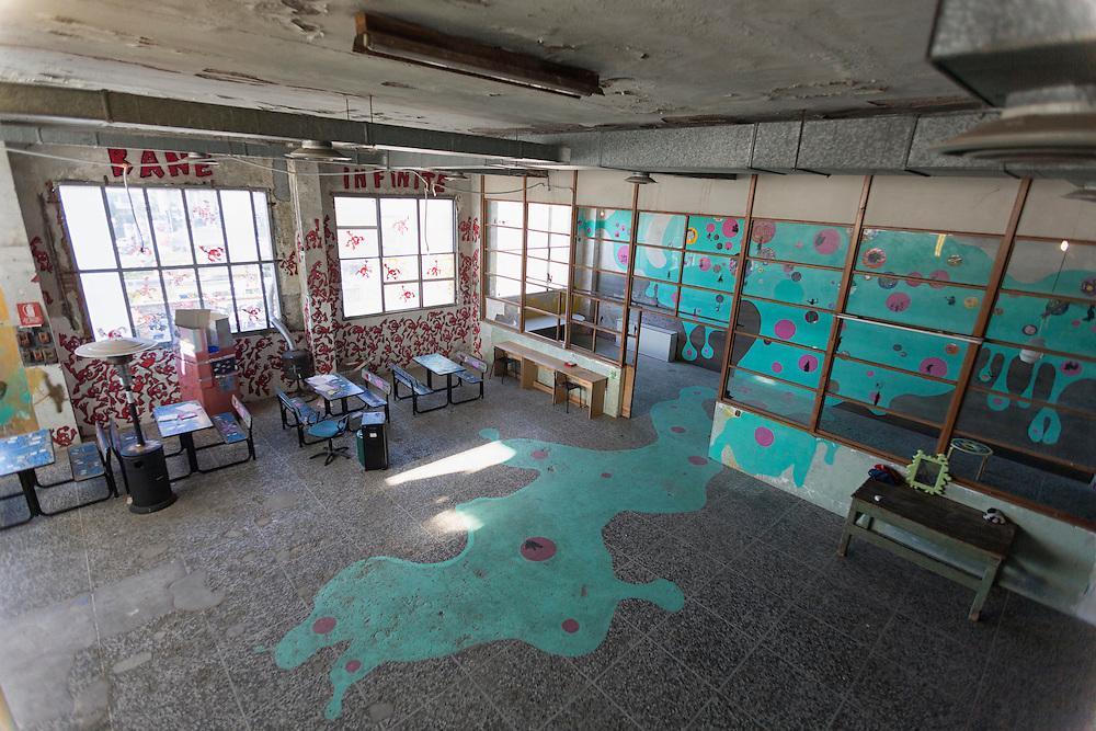 la ludoteca dipinta da Veronica Montanino<br /> <br /> the playroom painted by Veronica Montanino