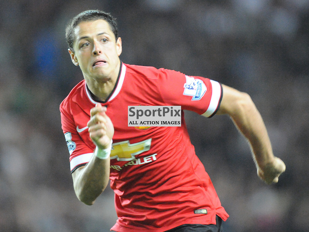 Chicharito, Manchester United, Mk Dons v Manchester United, Capital One Cup,  Milton Keynes, Stadium MK, Tuesday 26th August 2014