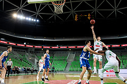 Roko Badzim of Petrol Olimpija during basketball match between KK Petrol Olimpija and KK Rogaska in Round #5 of Liga Nova KBM za prvaka 2018/19, on March 31, 2019, in Arena Stozice, Ljubljana, Slovenia. Photo by Masa Kraljic / Sportida