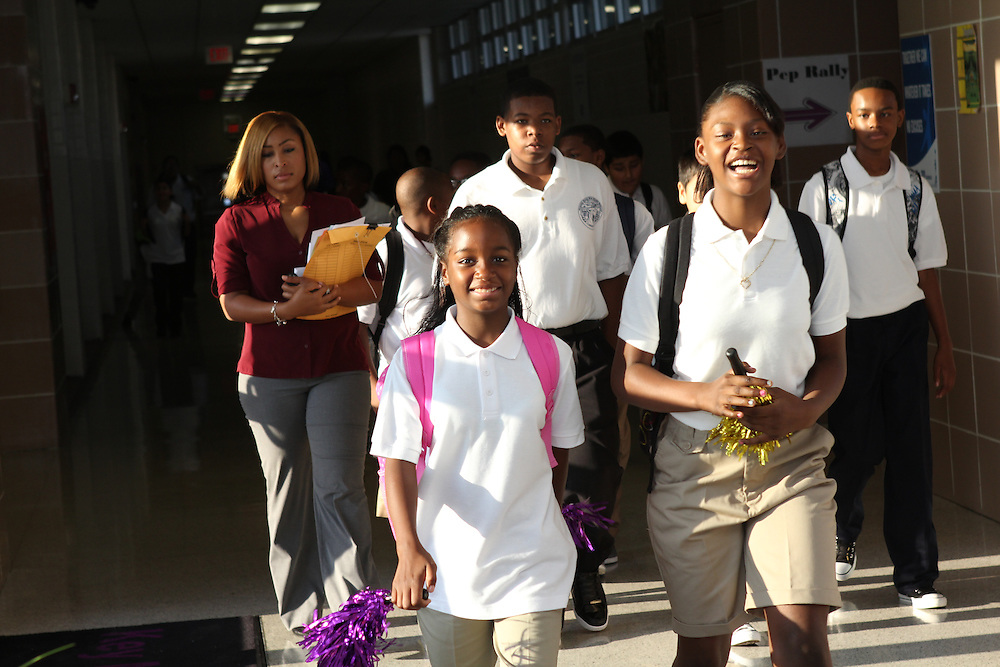 Apollo Back to School August 20, 2012.
