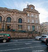 Exterior of Sao Bento Train station, Porto, Portugal