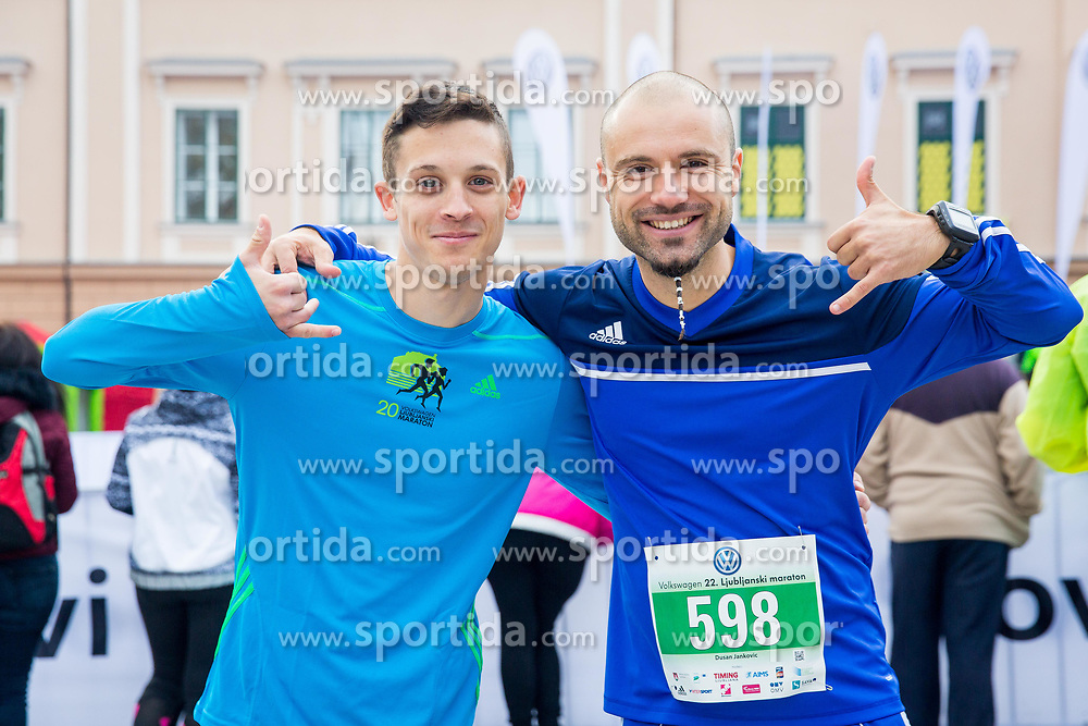 21km and 42km Run at Volkswagen 22nd Ljubljana Marathon 2017, on October 29, 2017 in Ljubljana, Slovenia. Photo by Ziga Zupan / Sportida