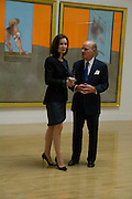 Marie- Josee Kravis; Henry Kravis, Francis Bacon opening private view and dinner. Tate Britain. 8 September 2008 *** Local Caption *** -DO NOT ARCHIVE-© Copyright Photograph by Dafydd Jones. 248 Clapham Rd. London SW9 0PZ. Tel 0207 820 0771. www.dafjones.com.