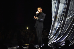 EDITORIAL USE ONLY.<br /><br />Liam Payne performs on stage at the Brit Awards at the O2 Arena, London.