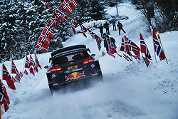 February 15, 2018 - Suede - Sebastien Ogier (FRA) – Julien Ingrassia (FRA) - Ford Fiesta WRC (Credit Image: © Panoramic via ZUMA Press)
