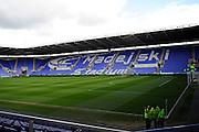 The Madejski Stadium before the Sky Bet Championship match between Reading and Preston North End at the Madejski Stadium, Reading, England on 30 April 2016. Photo by Jon Bromley.