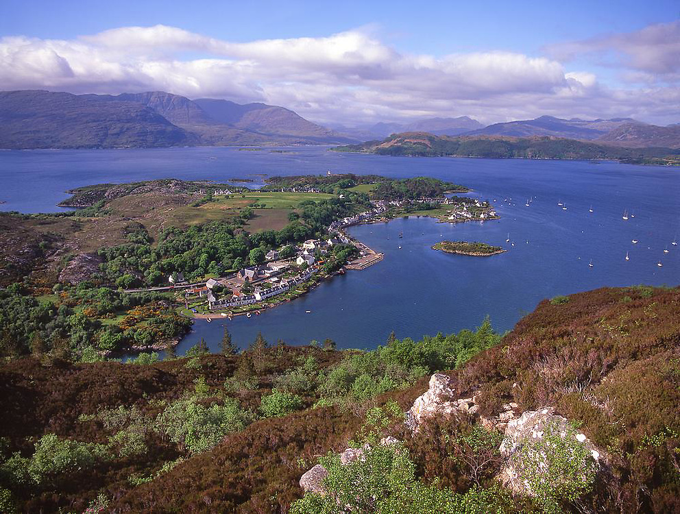 Plockton & Loch Carron, N/W Highlands