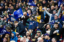 Bristol fans in the crowd show their support - Mandatory byline: Patrick Khachfe/JMP - 07966 386802 - 18/10/2019 - RUGBY UNION - Ashton Gate Stadium - Bristol, England - Bristol Bears v Bath Rugby - Gallagher Premiership