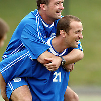 St Johnstone Training...06.08.04<br />