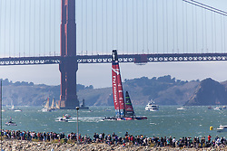 14.09.2013, Pier29, San Francisco, USA, Americas Cup Final Races 2013, Race 8 und 9, im Bild Team Emerates New Zealand with Dean Baker (14), Ray Davis (10), Glenn Ashby (3), Chris Ward (7), Rob Wadell (11), Derek Saward (12), James Dagg (9), Grand Dalton (6), Chris McAsey (5), Jeremy Lomas (8), Adam Beashel (2)// during the finals of the Americas Cup 2013, race 8 and 9 at San Francisco, United States of America on 2013/09/14. EXPA Pictures © 2013, EXPA Pictures © 2013, PhotoCredit: EXPA/ Mag. Gert Steinthaler